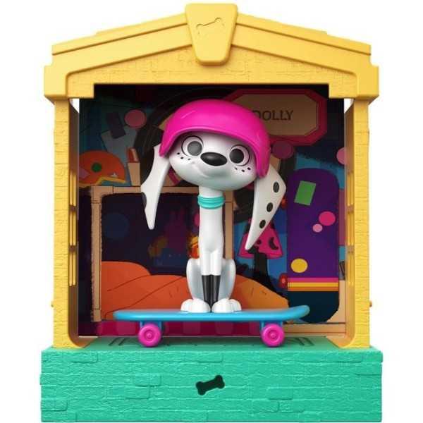 101 Dalmatian Street Hondenhuis & Dolly - Speelfiguur - 2