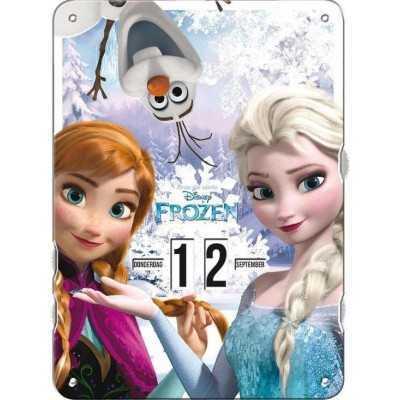 Frozen Elsa - Anna Draaidoor kalender - Ophangbaar - 27 x 37 x 0,8 cm - 1