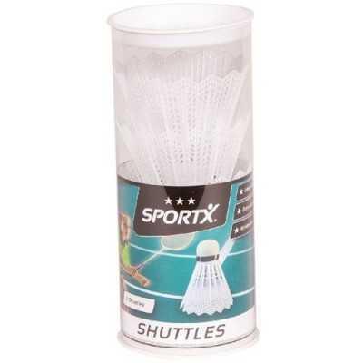 SportX Shuttle Wit 3 in koker - 1
