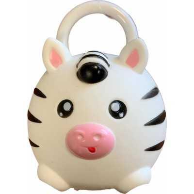 SQueaky's waterknijpbeestje Zebra 10 cm - Vanaf 0 Maanden - 1