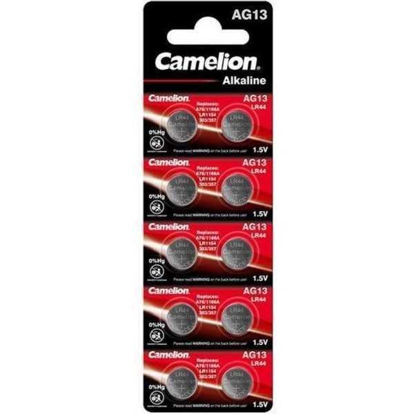 Camelion AG13/LR44/76A/V13GA/A76 1.5v Alkaline knoopcel batterij - 1