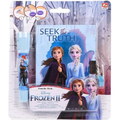 Disney Frozen 2 Geheim Dagboek met UV-Pen + Slotje - 1