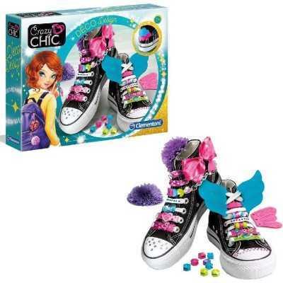 Clementoni Crazy Chic Deco Design - Ontwerpset Schoenen - Hobbypakket - 3