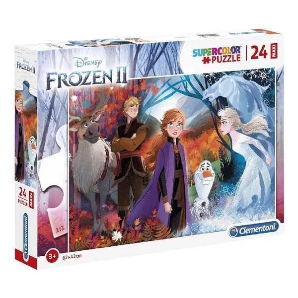 Frozen 2 Maxi Puzzel 24st - 1