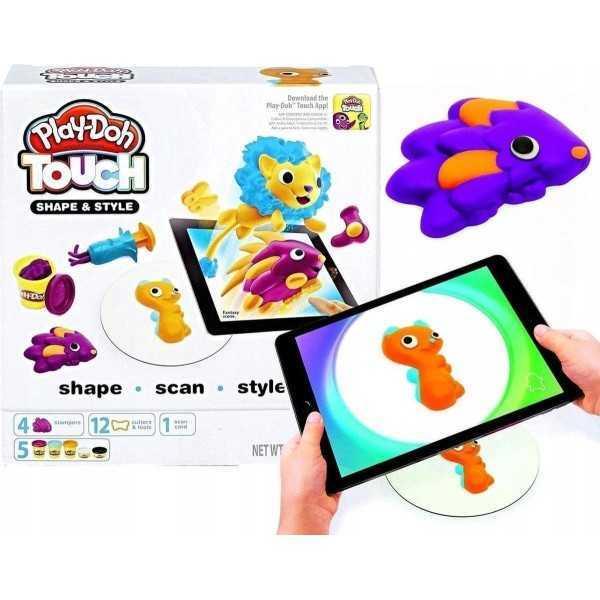 Play-Doh Touch-set Shape & Style - Met telefoontoepassing - 1