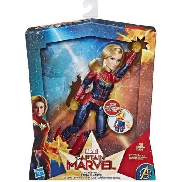 Marvel Captain Marvel speelgoedfiguur met licht en geluid, Photon Power FX - 1