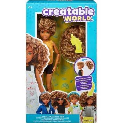 Creatable World Character Starter Kit 4 Honey Brown Curly - Genderneutrale Pop - 1