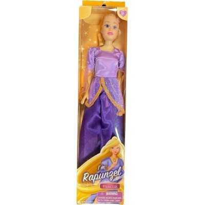 Tienerpop Prinses Rapunzel Paars 30 Cm - 1