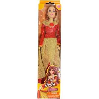 Tienerpop Prinses Belle Rood 30 Cm - 1