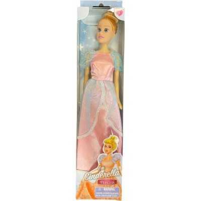 Tienerpop Prinses Cinderella 30 Cm Roze/blauw - 1