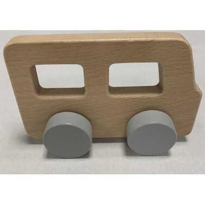 Playing Kids - Houten Auto Busje - vanaf 18 maanden - lengte 15 cm - hoogte 9 cm - breedte 4 cm - 1