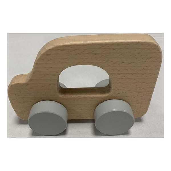 Playing Kids - Houten Auto - vanaf 18 maanden - lengte 15 cm - hoogte 9 cm - breedte 4 cm - 1