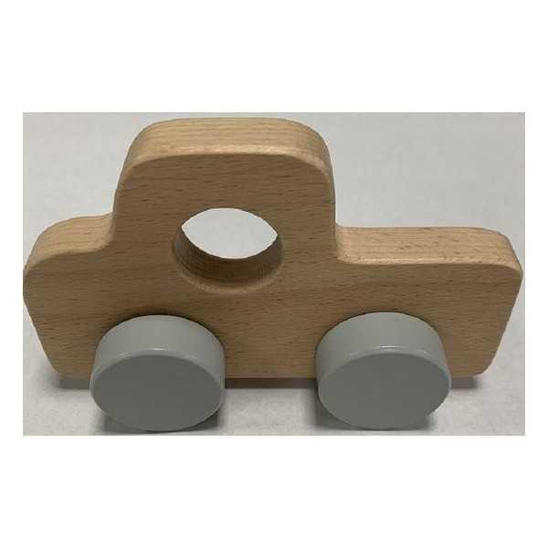 Playing Kids - Houten Auto Pick-up - vanaf 18 maanden - lengte 15 cm - hoogte 9 cm - breedte 4 cm - 1