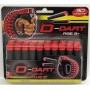 D-Dart Zuignap Pijltjes Refill - 30 pijltjes - 1