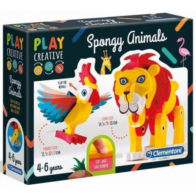 Clementoni - Play Creative - Maak je eigen dieren - Hobbypakket - 1