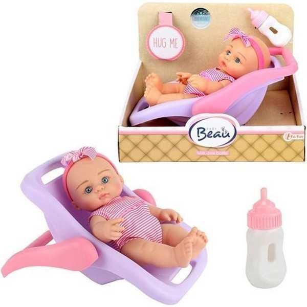 Babypop in draagstoeltje 18 cm - 1