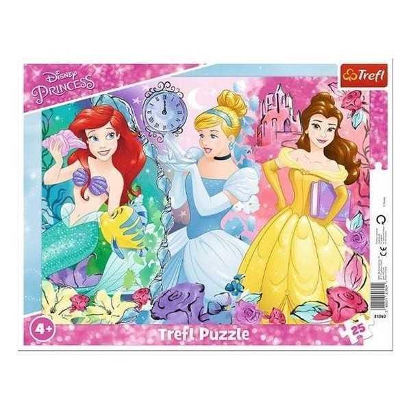 Disney Princess Raampuzzel 25 delig 29x37cm - 1