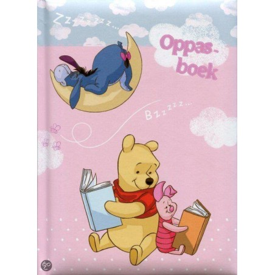 Winnie The Pooh oppasboekje - Benza Crecheboek, Oppasboek: Winnie the Pooh - 1