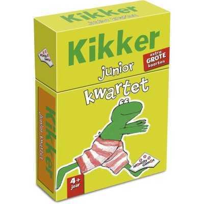 Kikker Junior Weetjes Kwartet - Kaartspel - 1