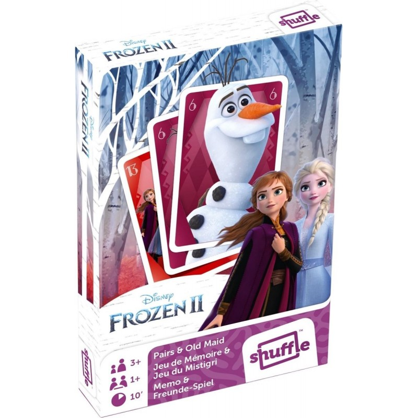 Shuffle Kaartspel 2-in-1 Frozen 2 Karton 25-delig - 1
