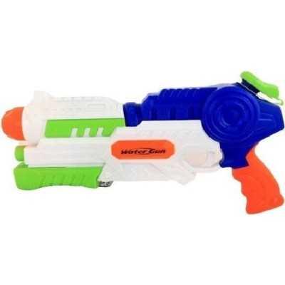 Waterpistool Met Pomp 42 Cm Jongens Wit/blauw - 1